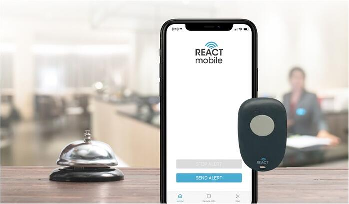 react-mobile-safety-solution-with-panic-button