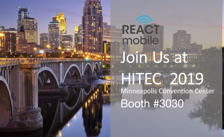 Hotel Employee Safety Tech Innovator React Mobile Celebrates Record-Breaking Year, Showcasing New Advancements at HITEC 2019