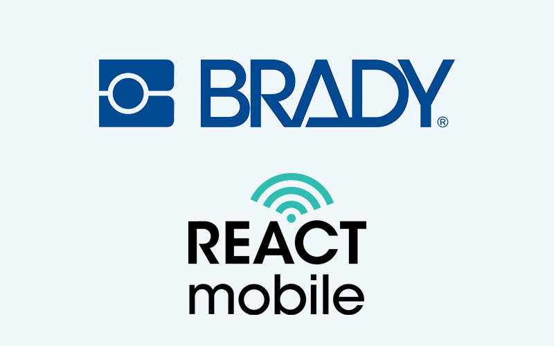 React Mobile Receives Investment via Strategic Partnership with Brady Corporation