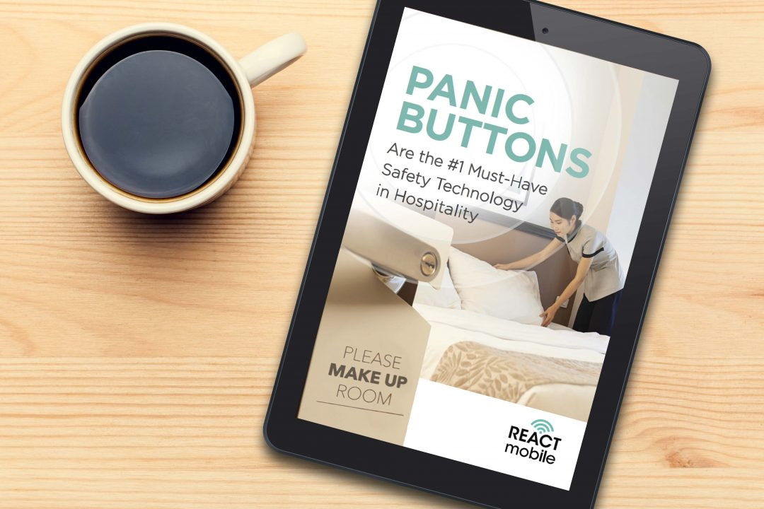 New Panic Button Guide eBook from React Mobile