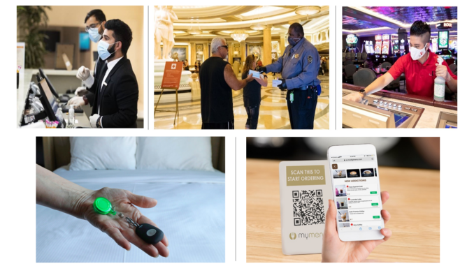 How Employee Safety Devices and Contactless Technologies Help Las Vegas Hotels and Resorts Ensure Worker Safety